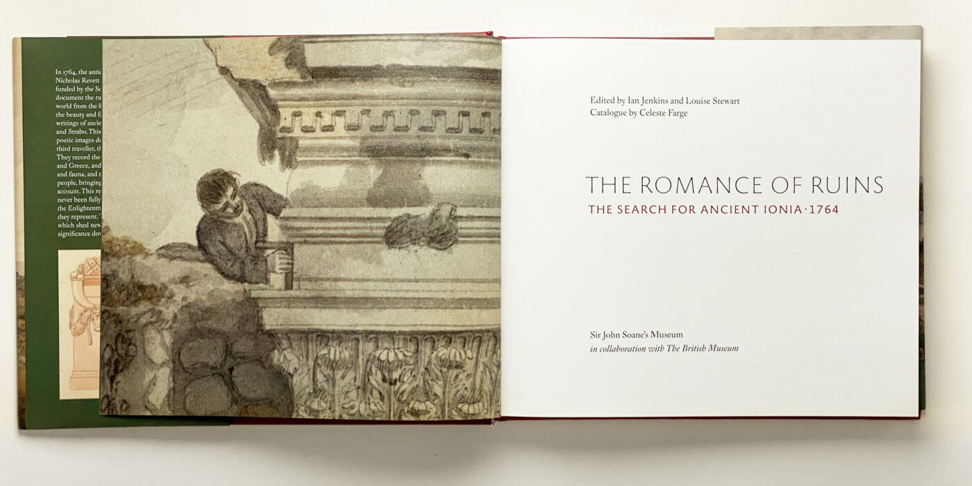 Romance of Ruins spread 1